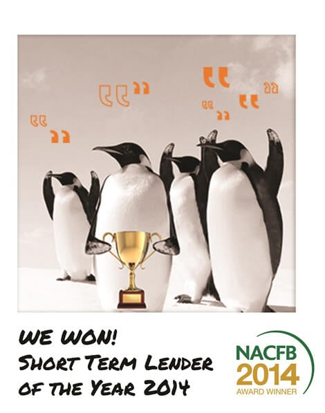 NACFB-short-term-lender-of-the-year-2014