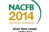 NACFB Short Term Lender of the Year 2014