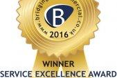 Service Excellence Award 2016