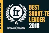 Financial Reporter Best Short Term/Bridging Loan Lender 2018