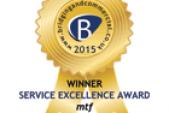 Service Excellence Award 2015