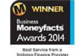 Business Moneyfacts Winner 2014