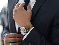 Men's tailoring & watches